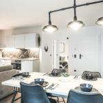 Apart Alban Wohnraum für 4 Personen und Kind