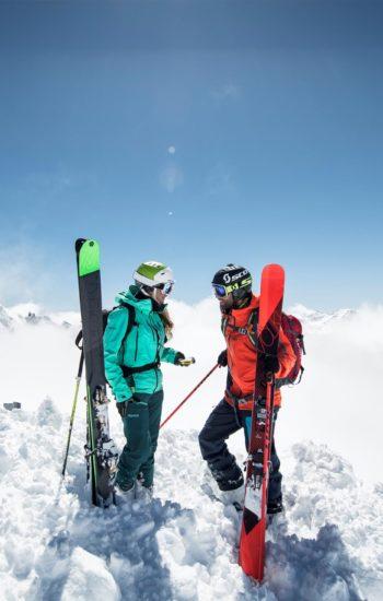 Skitouren Stubaital, Skifahren Stubaital