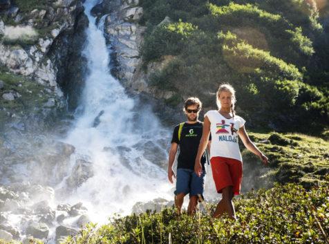 Wilde Wasser Weg Stubaital, Wandern im Stubaital