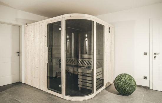 Sauna Oskar Apartment Wellness im Stubai Winterurlaub Sommerurlaub Entspannung