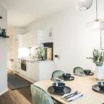 Apart Annie Essbereich und Küche