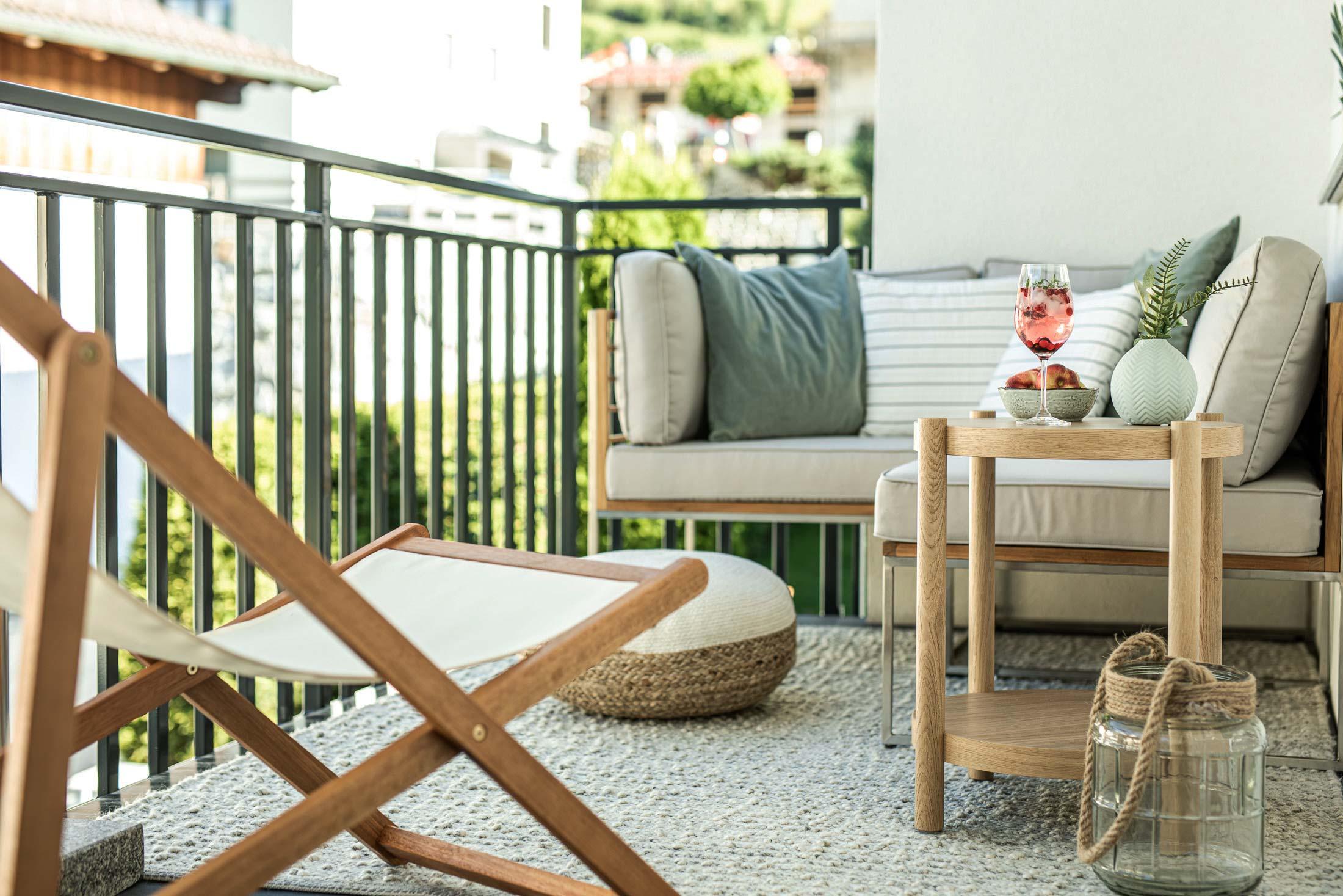 balkon apartment oskar